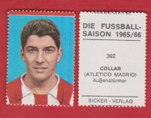 Atletico Madrid Enrique Collar Spain 392